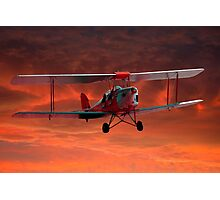 Two seater Tigermoth Photographic Print