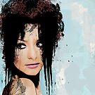 Grunge Portrait by loveli