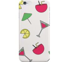 Summer Cocktail Party Patterm iPhone Case/Skin