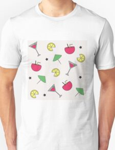 Summer Cocktail Party Patterm T-Shirt