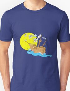Pirate Boat T-Shirt