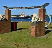 STOCKTON FORESHORE, NEWCASTLE, NSW. by Phil Woodman