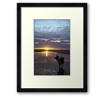 Twilight of Indy Framed Print
