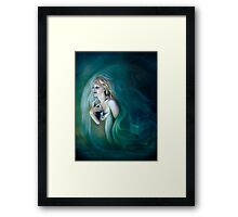 Lunar Maiden Framed Print