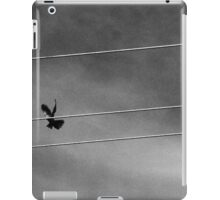 bird in flight  iPad Case/Skin