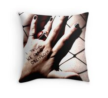 Hold Me Tighter And Comfort Me, I Am Slipping Into Sleep And I Am So Scared. Throw Pillow