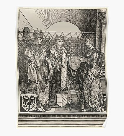 Albrecht Dürer or Durer The Betrothal of Philip the Fair with Joan of Castile Poster