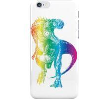 Rainbow Dinosaur: Party Rex iPhone Case/Skin