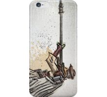 Princess Leia, Boushh, Bounty Hunter, Art, print, Star Wars, Illustration, Return of the Jedi, Carrie Fisher, Jabba the Hut, joe badon, sci fi, science fiction, fantasy, girl, female, disguise iPhone Case/Skin