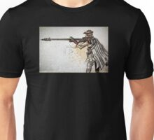 Princess Leia, Boushh, Bounty Hunter, Art, print, Star Wars, Illustration, Return of the Jedi, Carrie Fisher, Jabba the Hut, joe badon, sci fi, science fiction, fantasy, girl, female, disguise Unisex T-Shirt