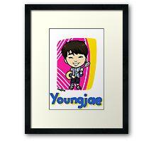 GOT7 딱 좋아 Youngjae Framed Print