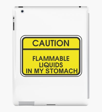 I'M FLAMMABLE  iPad Case/Skin