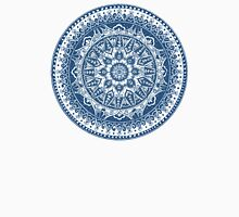 Blue Mandala Pattern Unisex T-Shirt