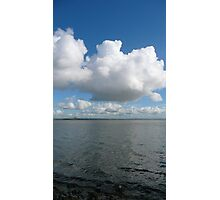 Big Cloud Over The Irish Sea Photographic Print