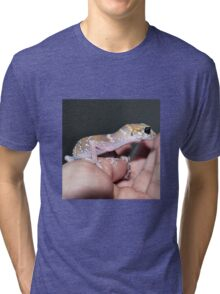 Me Lady - Hypo Thick-Tailed Gecko Tri-blend T-Shirt