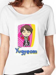 GOT7 딱 좋아 Yugyeom Women's Relaxed Fit T-Shirt