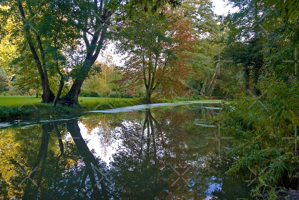 Reflections of Autumn by Geoff Carpenter