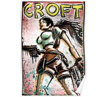 Lara Croft, Tomb Raider, Art, Print, Video Game, Movie, Comic Book, Geekery, Playstation, Illustration,Drawing, Birthday Present, joe badon, nintendo, sega, film, movie Poster