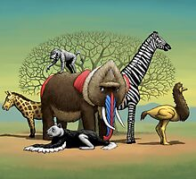 Strange Safari by BJHartnett