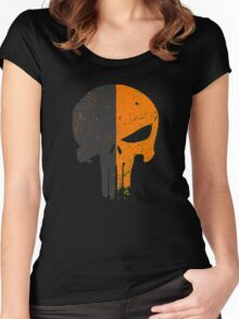 Punisher Deathstroke Women's Fitted Scoop T-Shirt