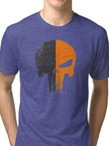 Punisher Deathstroke Tri-blend T-Shirt