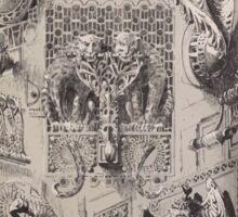 Esquisses décoratives Binet Rene 190x 0081 Heurtoir Sticker