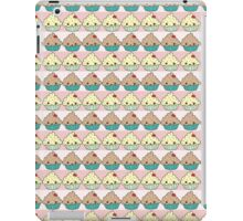 Cute Cupcake Striped Pattern iPad Case/Skin