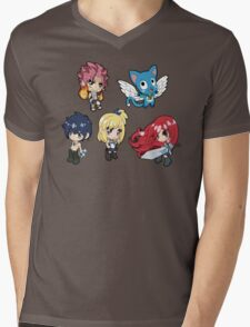 Fairy Tail - Natsu, Happy, Gray, Lucy, and Erza T-Shirt