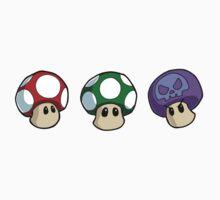 Super Mario Bros. - Mushrooms Kids Clothes