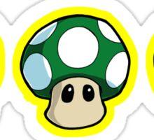 Super Mario Bros. - Mushrooms Sticker