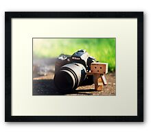 Danbos New Camera Framed Print