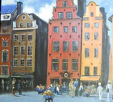 Gamlan Stan, Stockholm, Sweden, Old Town by Jsimone