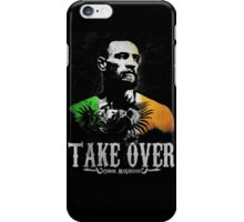 "Conor McGregor ""Take Over"" iPhone Case/Skin"