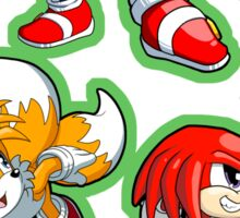 Sonic the Hedgehog - Sonic, Tails, and Knuckles Sticker