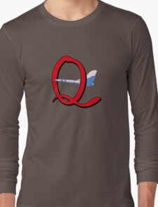Quest Team's favorite Mode of Transport! Long Sleeve T-Shirt