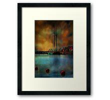 In The Harbor Framed Print