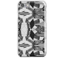 Black and White Aztec Print iPhone Case/Skin