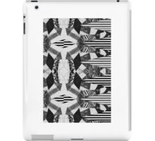 Black and White Aztec Print iPad Case/Skin