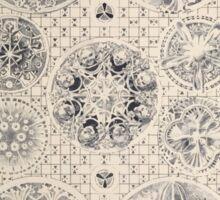 Esquisses décoratives Binet Rene 190x 0121 Rosace Sticker