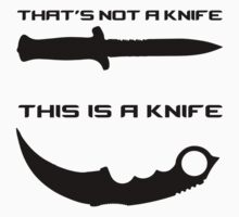 THAT'S NOT A KNIFE - THIS IS A KNIFE Kids Clothes