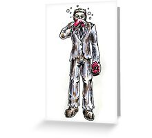 Punch Drunk Greeting Card