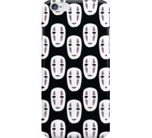 Spirited Away Inspired Noface Pattern iPhone Case/Skin