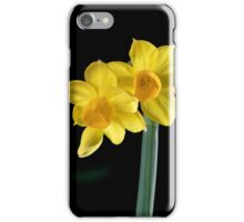 Jonquils and bud iPhone Case/Skin