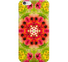 Echinacea garden iPhone Case/Skin