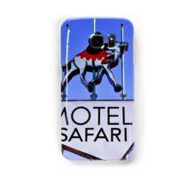 Old Route 66 Motel Safari Sign  Samsung Galaxy Case/Skin
