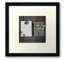 little bits and pieces Framed Print