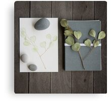 little bits and pieces Canvas Print