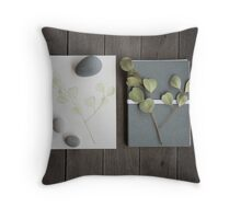 little bits and pieces Throw Pillow