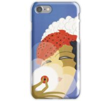 Whimsical French Art Deco cosmetics fashion art iPhone Case/Skin