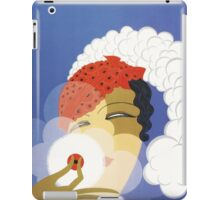 Whimsical French Art Deco cosmetics fashion art iPad Case/Skin
